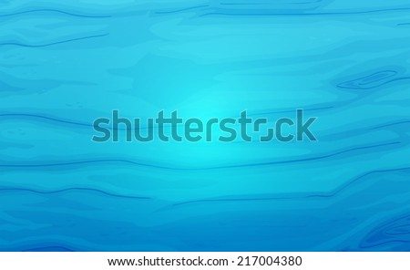 Illustration of a blue water texture - stock vector