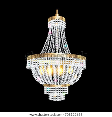 Crystal Chandelier Images Stock Photos And Vectors Shutterstock