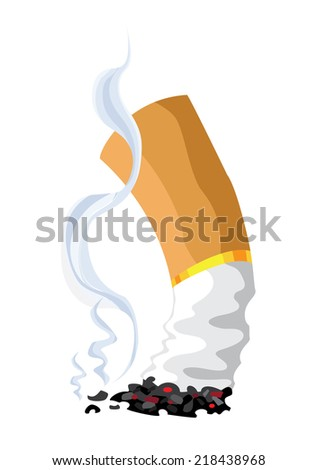 illustration of a cigarette