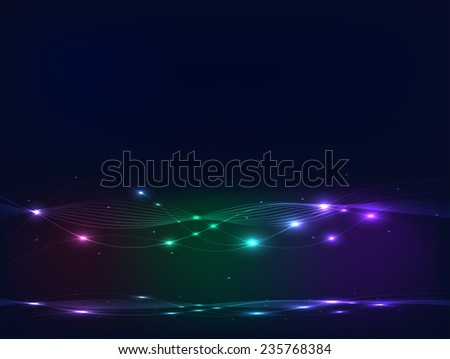 Illustration of a colorful abstract glow background.