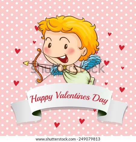 Cartooncupid Images RoyaltyFree Images Vectors – Picture of a Valentine Card