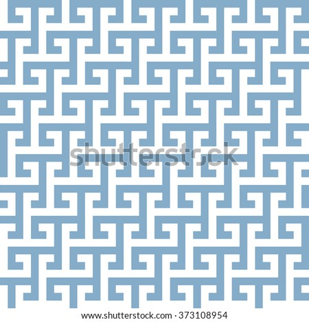 illustration of a geometrical greek style pattern, eps10 vector