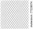 Illustration of a metal mesh netting. Vector. - stock photo