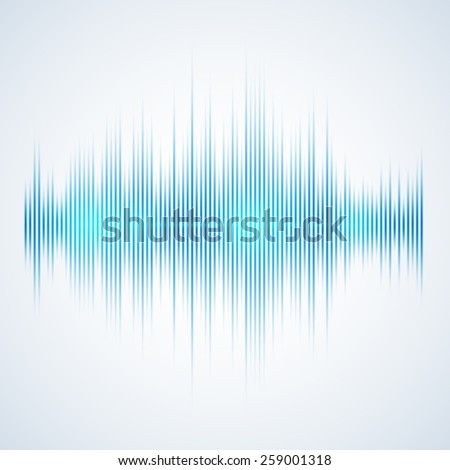 Illustration of a Music Equalizer, excellent vector illustration, EPS 10 - stock vector