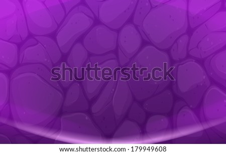 Illustration of a purple background