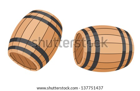 illustration of a set barrel
