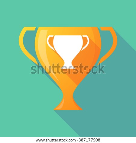 Illustration of a trophy icon with a cup