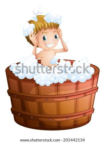 Cartoon Bath Tub Stock Images Royalty Free Images Vectors