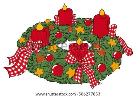 Germany Christmas Stock Vectors, Images & Vector Art | Shutterstock