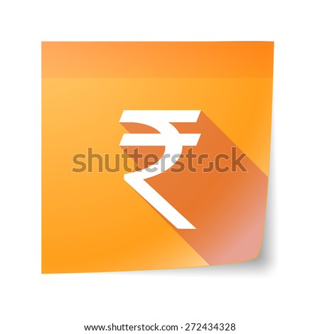 Rupee Note Note Icon With a Rupee