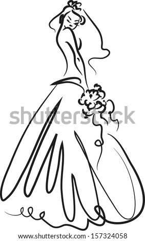 Illustration of Bride