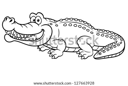 Crocodile hunter coloring pages ~ Caiman Crocodile Stock Images, Royalty-Free Images ...
