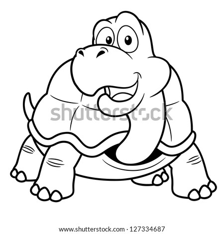turtle cartoon coloring pages - photo#28