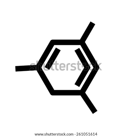 Illustration of  Chemical formula - stock vector