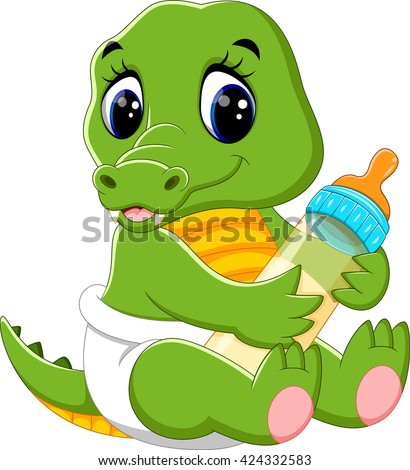 Baby alligator stock images royalty free images vectors shutterstock - Crocodile dessin ...