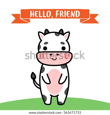 Birthday Card Cow Images RoyaltyFree Images Vectors – Cow Birthday Invitations
