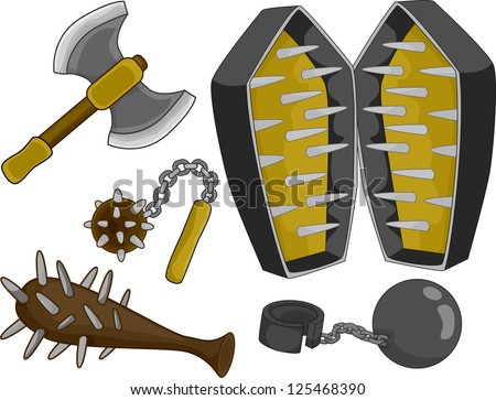 Iron maiden torture stock images royalty free images vectors shutterstock - Clipart tortue ...