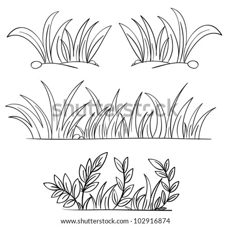 cartoon grass stock photos images pictures shutterstock