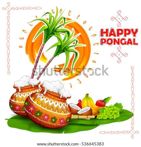 Illustration happy pongal greeting background stock vector 536645383 illustration of happy pongal greeting background m4hsunfo Choice Image