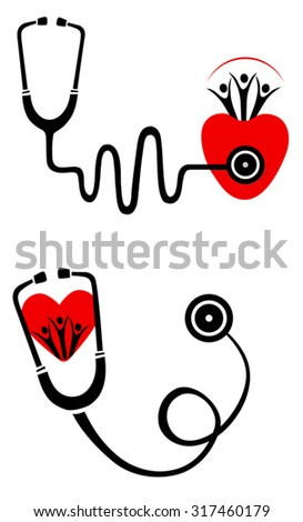 Illustration Health Check Icon Vector Stock Vector 2018 317460179