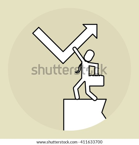 Illustration of help and support, editable vector