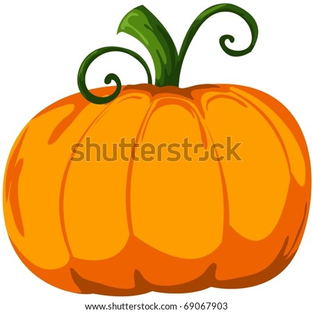 Cartoon pumpkin stock images royalty free images vectors illustration of isolated cartoon pumpkin on white thecheapjerseys Choice Image