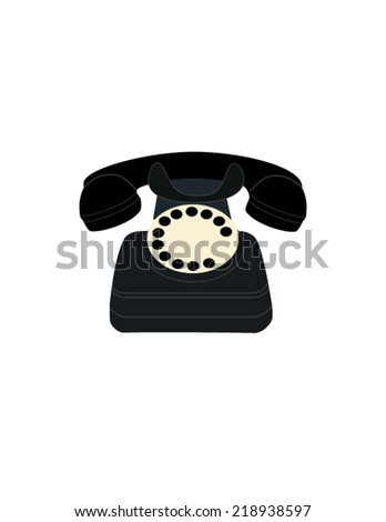 Illustration of   phone, old mobile phone, old cell phone, vintage phone, telephone, retro phone, cell phone