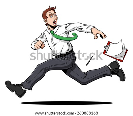 Man Running Away Stock Photos, Images, & Pictures ... Escaping Running