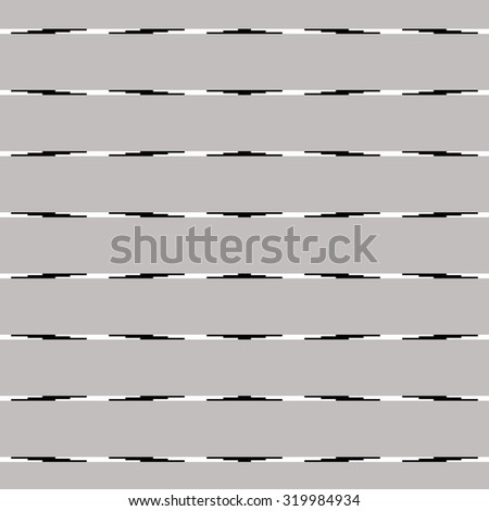 illustration of seamless background with colored optical illusion - stock vector