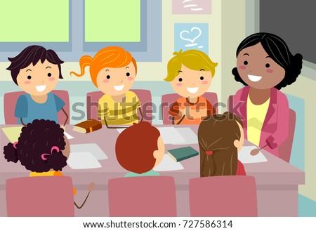 Student council meeting cartoon