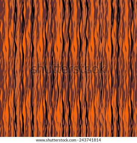 Illustration of texture as a bark of tree  - stock vector