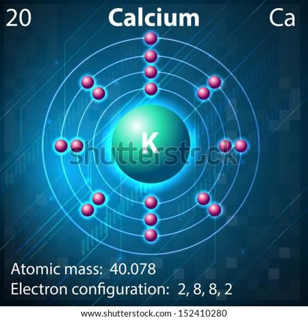 Illustration element calcium stock vector 152410280 shutterstock illustration of the element calcium ccuart Gallery
