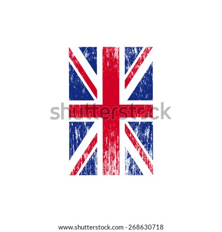 illustration of the flag of England