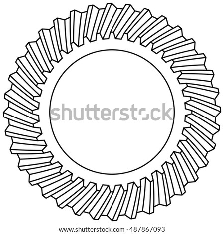 Illustration of the helical gear icon