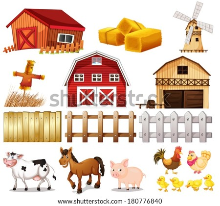 Farm stock images royalty free images vectors for How did the white house get its name