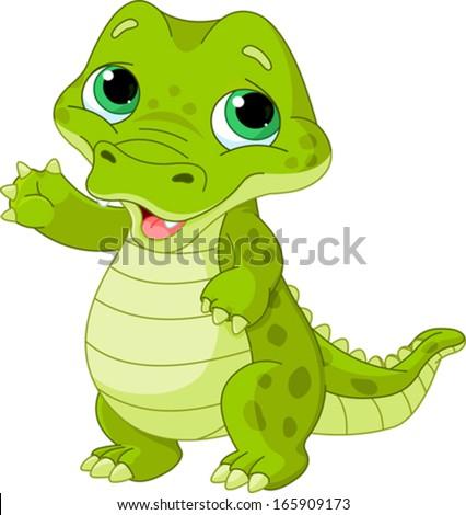 Cartoon Alligator Stock Images, Royalty-Free Images ... - photo#25