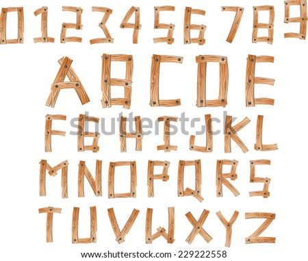 Numerals And Digit And Abc And Spell Stock Photos, Royalty-Free ...