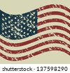 Illustration patriot united states of america, usa poster, vector illustration - stock vector