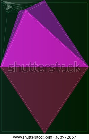 illustration polygon pattern texture art mosaic vector