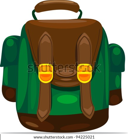 Vector backpack Stock Photos, Illustrations, and Vector Art