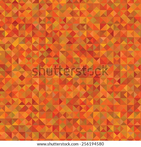 Illustration  with abstract orange  background. Graphic Design Useful For Your Design.Polygonal background texture design on border. - stock vector