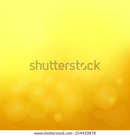 Illustration  with abstract yellow  background. Graphic Design Useful For Your Design. Blurred background texture design on border. Sun background. - stock vector