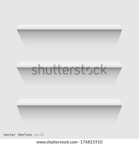 floating shelves stock images royalty free images vectors shutterstock. Black Bedroom Furniture Sets. Home Design Ideas