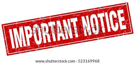 Important Notice Sign | www.pixshark.com - Images ...