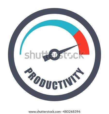 Increase Productivity ... Improve Efficiency Icon