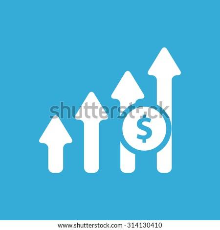 Increase Profit Chart icon - stock vector