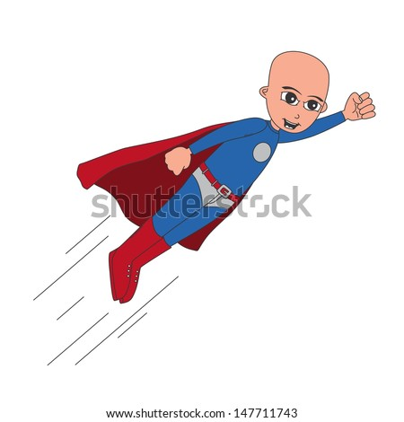 incredible skin bald superhero