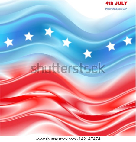 Independence Day Background. - stock vector