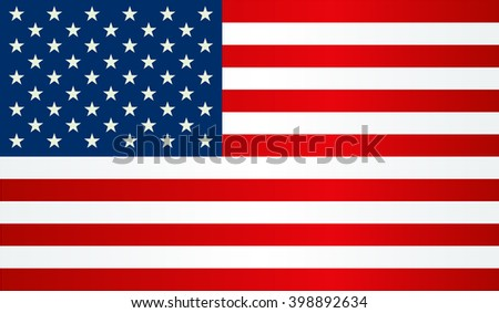 Independence day background. United States flag. USA flag. American symbol. - stock vector