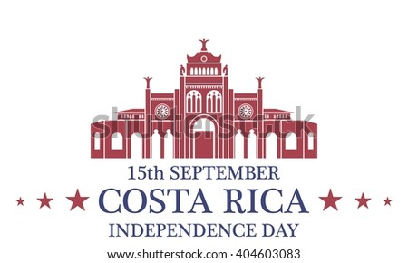 Independence Day. Costa Rica